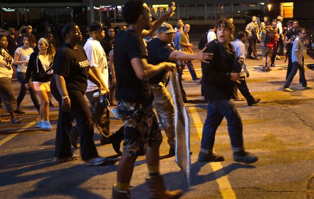 Fergusons - Protestors